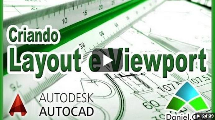 Criando Layout e Viewport - Arquiteto Sorocaba